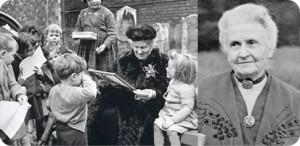 Bild Maria Montessori